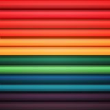 Abstract rainbow colorful lines Royalty Free Stock Photos