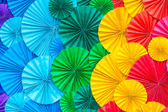 Abstract rainbow Colorful rose flower Paper background Royalty Free Stock Photo