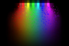 Abstract rainbow colors Royalty Free Stock Photos