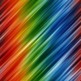 Abstract rainbow colors background with blurred diagonal lines Stock Photography