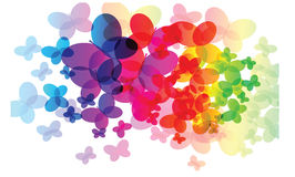 Abstract rainbow colors Stock Image