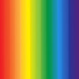 Abstract Rainbow Colors Stripes Background Stock Photo