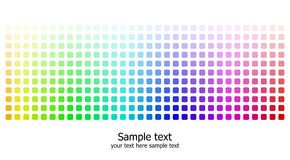 Abstract rainbow colours background Royalty Free Stock Photography