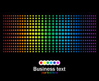 Abstract rainbow colours background Royalty Free Stock Images