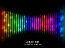 Abstract rainbow colours background eps10 Royalty Free Stock Images