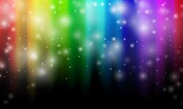 Abstract rainbow colours Royalty Free Stock Photography