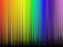 Abstract rainbow colours. On a black background Stock Photos