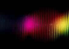 Abstract rainbow colours stock illustration