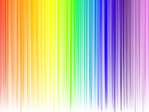 Abstract rainbow colours. On a white background Stock Photo