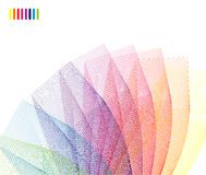 Abstract Rainbow corporate card Stock Photo