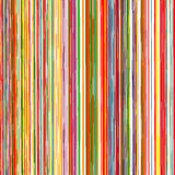 Abstract Rainbow Curved Stripes Color Background Stock Image