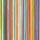 Abstract rainbow curved stripes color background. Illustration Stock Illustration