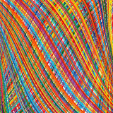 Abstract rainbow curved stripes color background Royalty Free Stock Photos