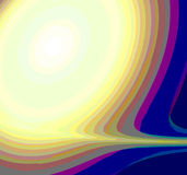 ABSTRACT RAINBOW DESIGN BACKGROUND Stock Image
