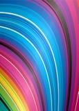 Abstract rainbow falls Stock Photos
