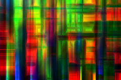 Abstract Rainbow Geometric Background Royalty Free Stock Image
