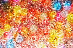 Abstract rainbow gold glitter background Stock Image