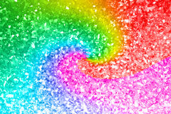 Abstract rainbow gold glitter background. Abstract rainbow gold glitter for background Stock Image