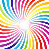 Abstract Rainbow Hypnotic Background Vector Stock Photography