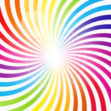 Abstract Rainbow Hypnotic Background Vector Stock Photos