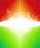 Abstract rainbow illustration Stock Photo