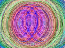 Abstract rainbow layer spiral background Stock Photos