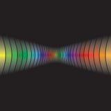 Abstract Rainbow Layout Stock Image