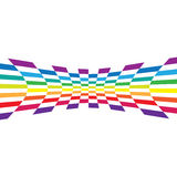 Abstract Rainbow Layout Stock Photography