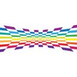 Abstract Rainbow Layout Stock Photography