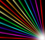 Abstract rainbow light background Royalty Free Stock Photo