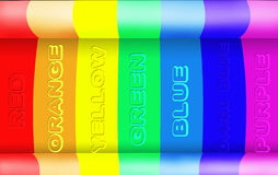 Abstract rainbow light background Royalty Free Stock Images