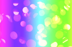 Abstract rainbow lights Stock Images