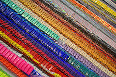 Abstract rainbow line heap, entertainment, Stock Photos