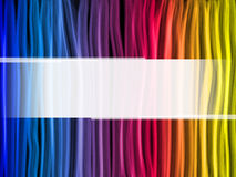 Abstract Rainbow Lines Background Royalty Free Stock Photos