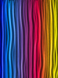 Abstract Rainbow Lines Background Stock Image