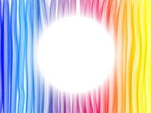 Abstract Rainbow Lines Background Royalty Free Stock Photography