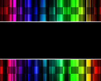 Abstract rainbow multicolored background. Abstract rainbow multicolored technology background Stock Illustration