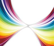 Abstract rainbow pattern Stock Photo