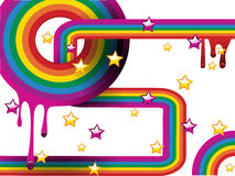 Abstract rainbow pattern Stock Images