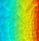 Abstract rainbow polygonal Royalty Free Stock Photo