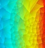 Abstract rainbow polygonal Royalty Free Stock Photo