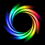Abstract Rainbow Ray Stock Image