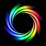 Abstract Rainbow Ray stock image