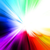 Abstract rainbow ray Stock Images