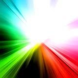 Abstract rainbow ray Royalty Free Stock Photos