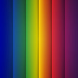Abstract Rainbow Rectangle Shapes Stock Image