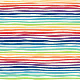 Abstract rainbow seamless background. Colorful picture of gradient inclined strips. Vector illustration. Great for congratulation cards, banners and flyers vector illustration
