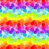 Abstract rainbow, seamless pattern Stock Photos