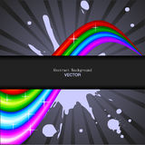 Abstract Rainbow Spectrum Background. Abstract Color Rainbow Spectrum Background. Vector illustration Stock Photo