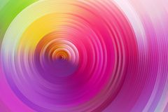 Abstract rainbow spiral, colorful background. Stock Images